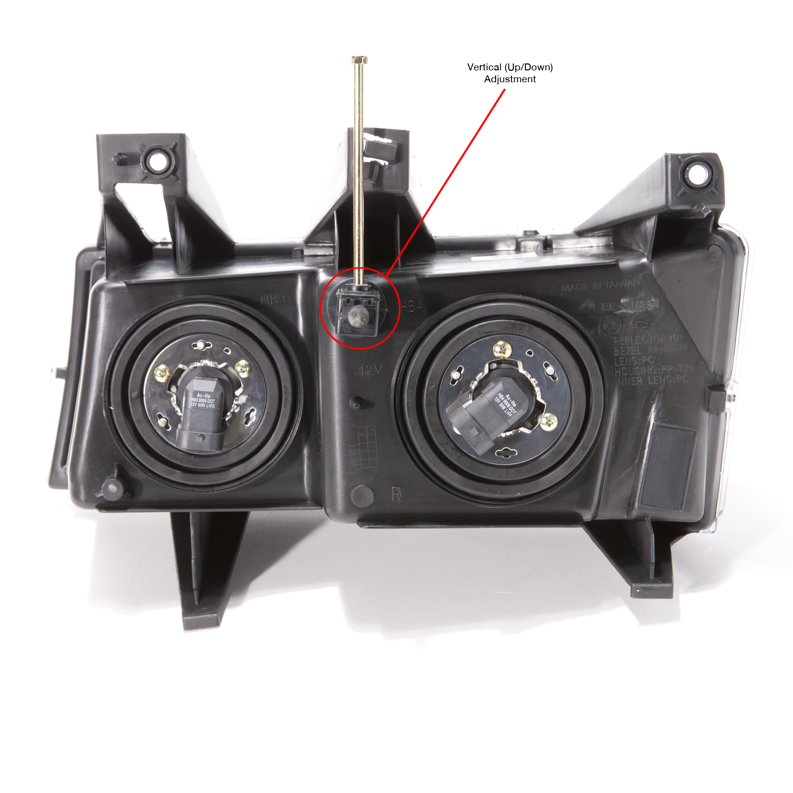 2004 2012 chevy colorado gmc canyon headlights halogen. Black Bedroom Furniture Sets. Home Design Ideas