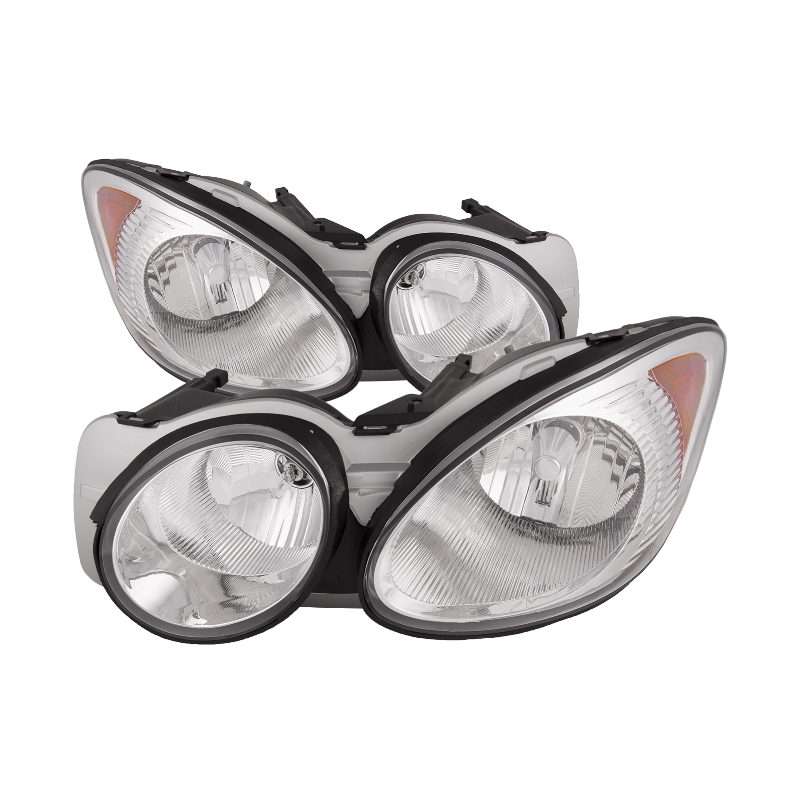 Details About Headlights Halogen Set Fits 2005 2008 Buick Lacrosse
