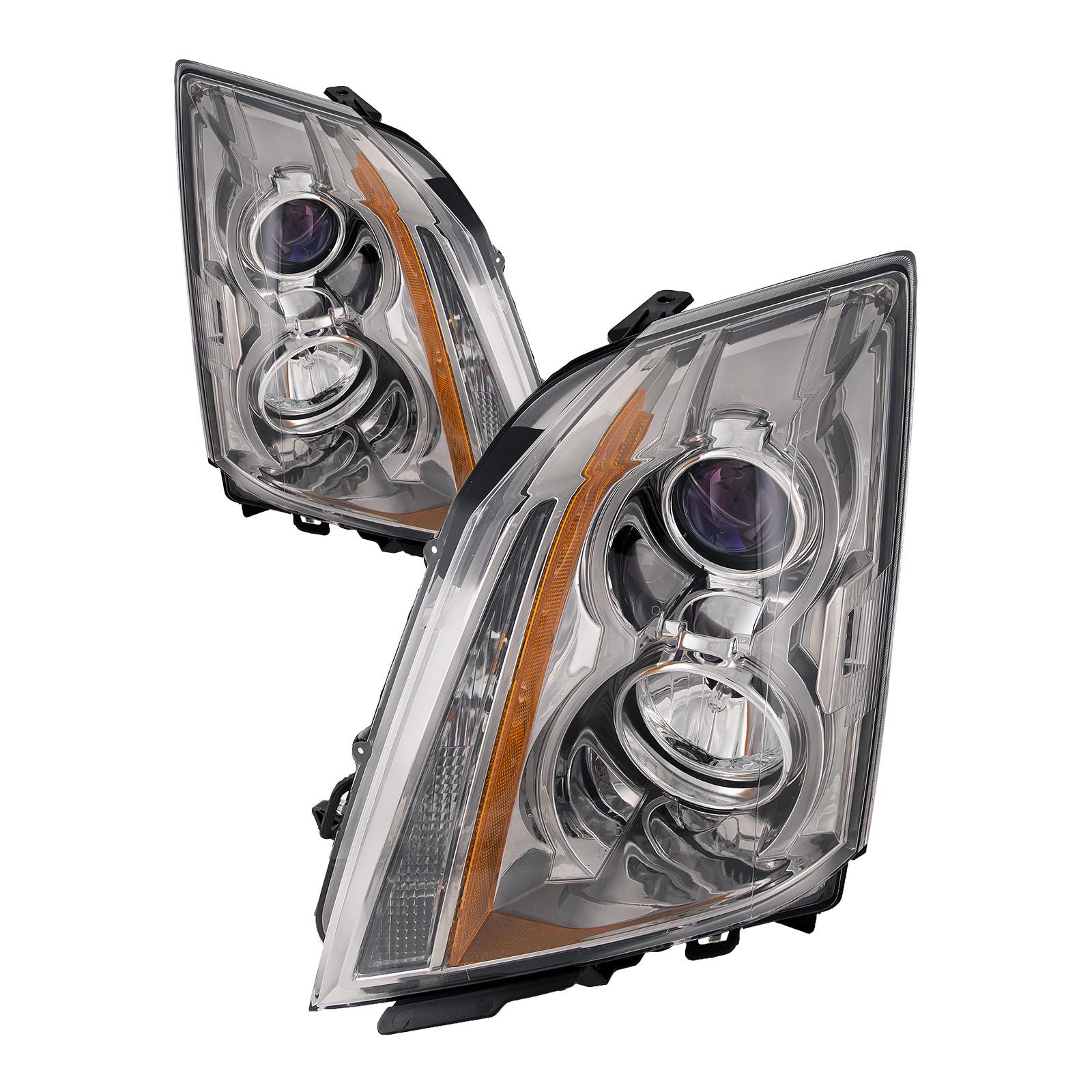 08-14 Cadillac Cts Sedan/11-15 Coupe Halogen Headlights