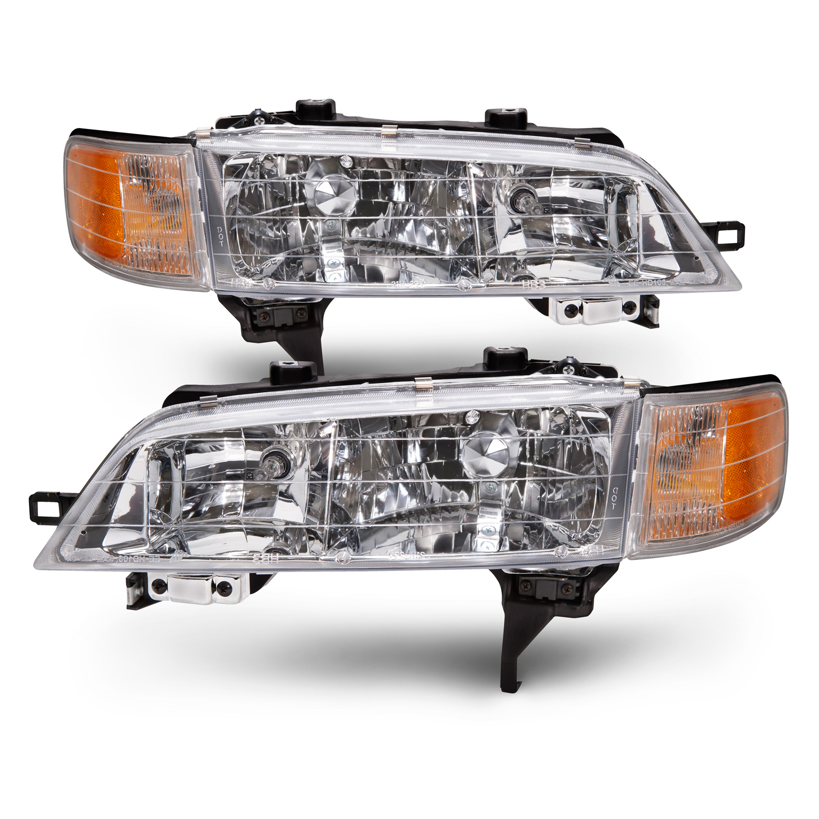 These Are A Set Of Factory Style Aftermarket Headlight