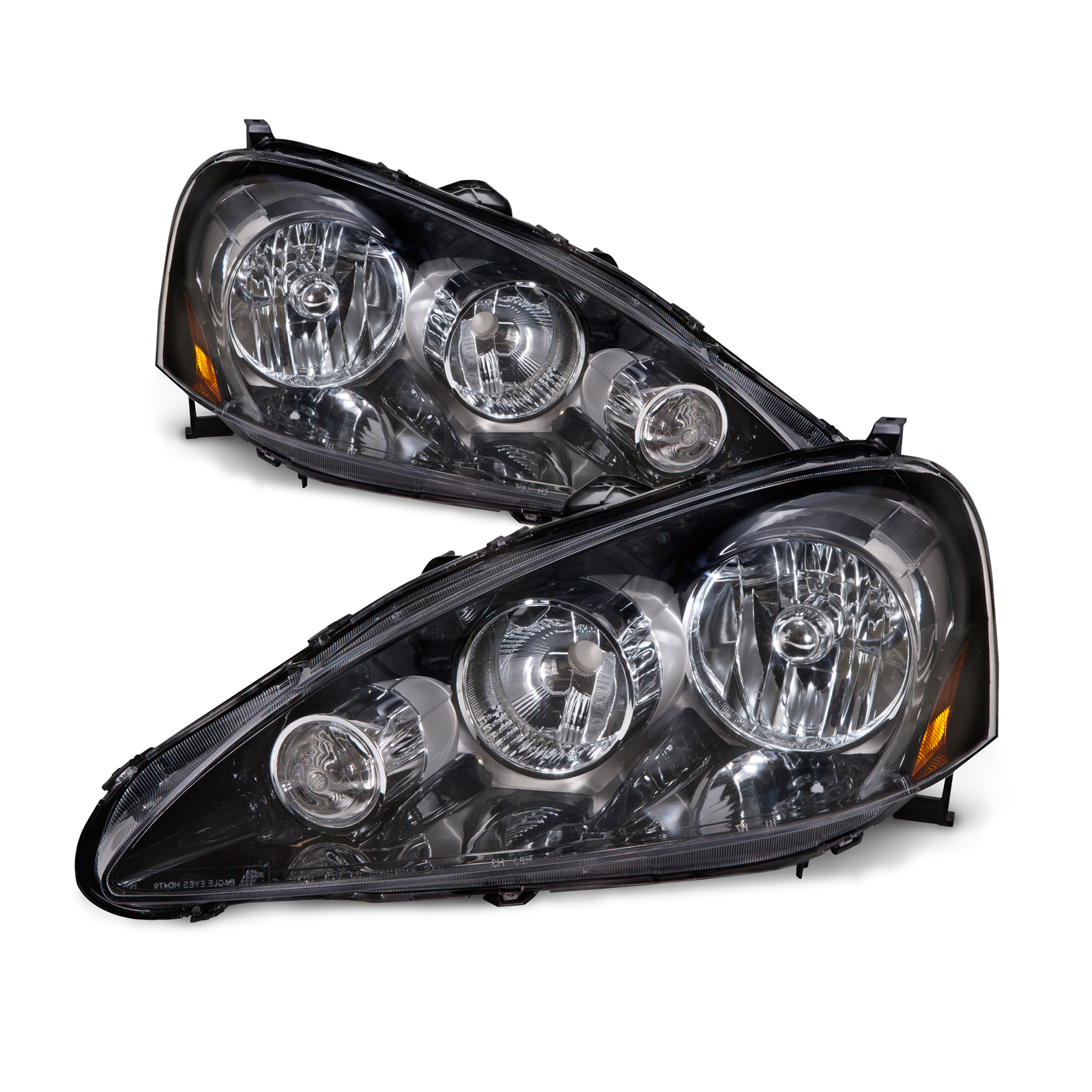 05-06 Acura Rsx Headlights Headlamps Pair Set Left+Right