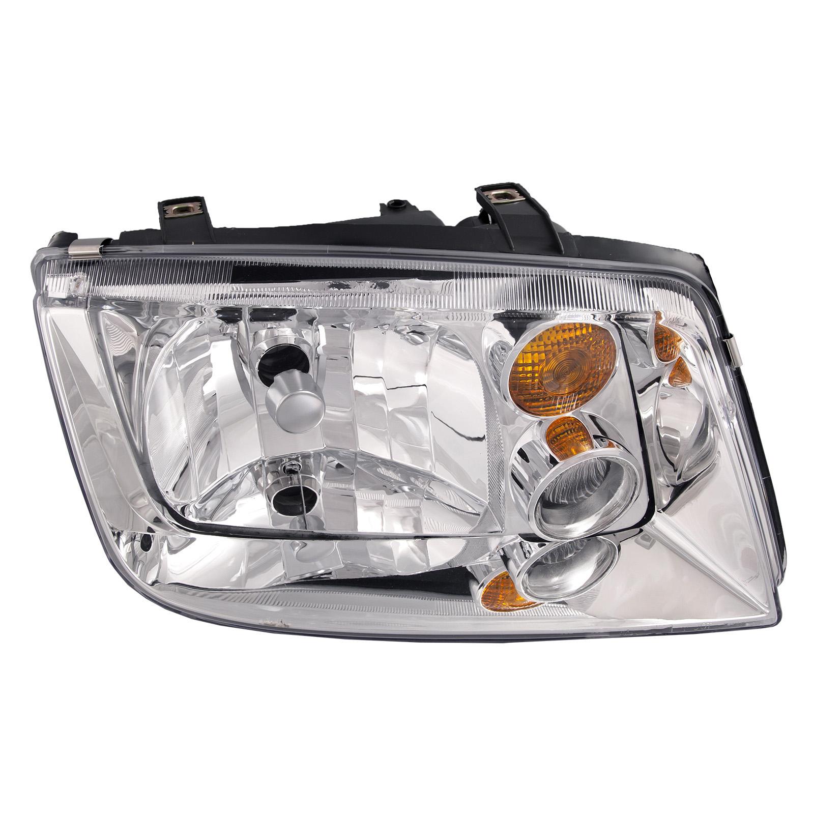 Details About Fits 02 05 Volkswagen Vw Jetta Headlight W O Fog Lamp Halogen Right Side