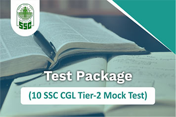 SSC CGL Tier 2 | Test Package