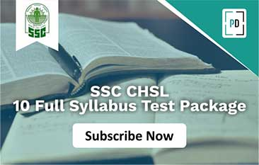 SSC CHSL Tier 1| Test Package