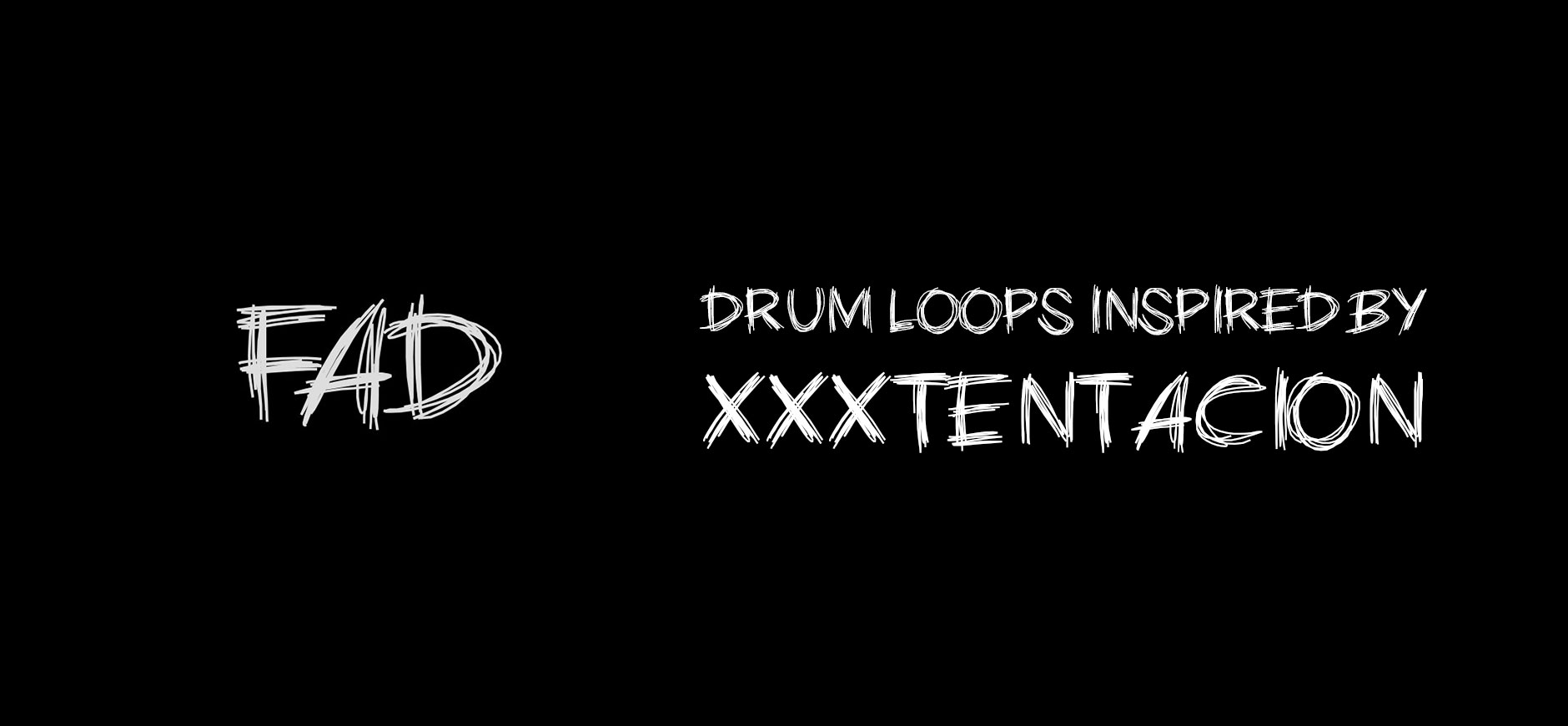 BAD! Drum Loops Kit Inspired by XXXTentacion