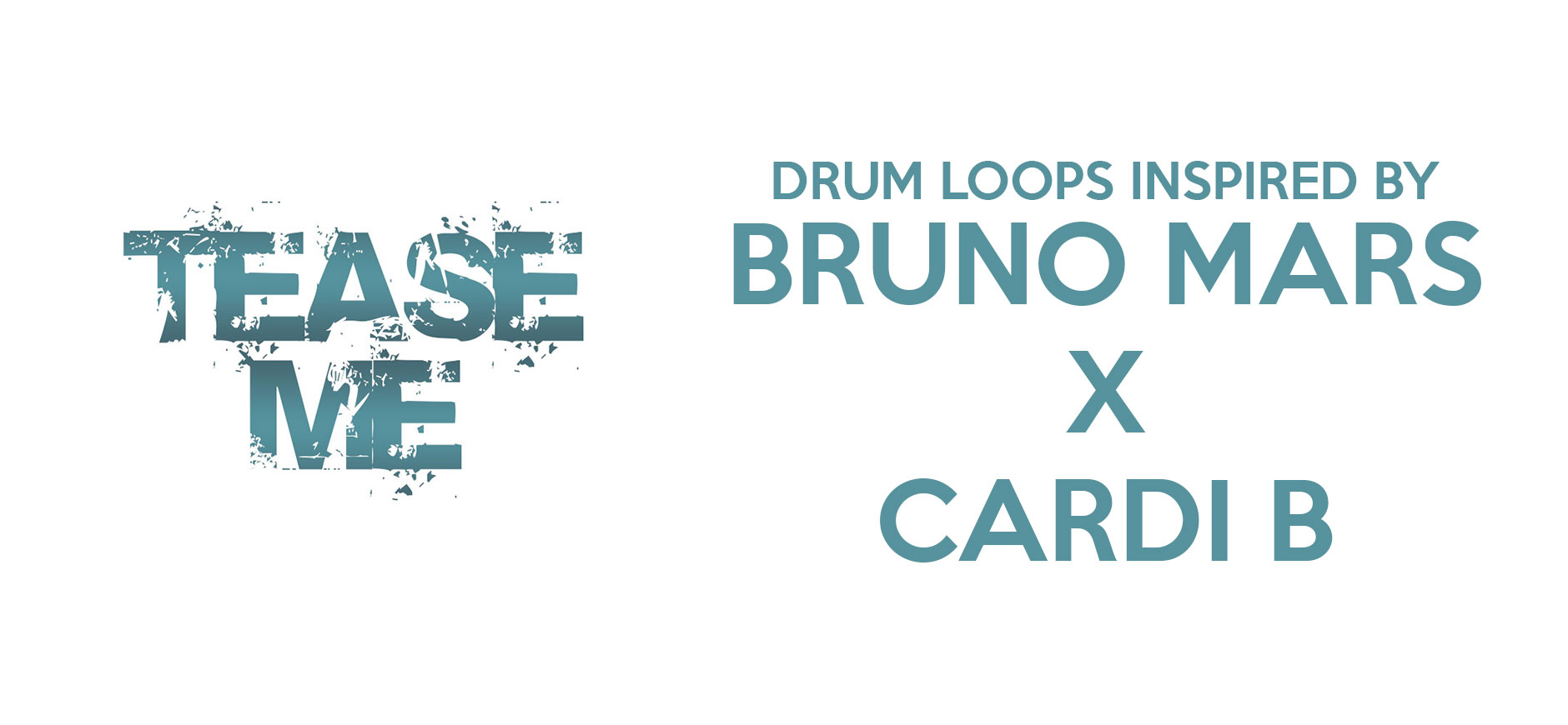 Please Me Drum Loops Kit Inspired by Bruno Mars & Cardi B