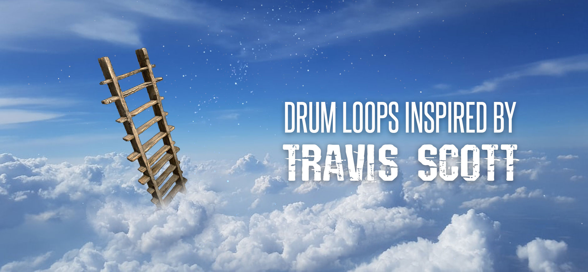 Travis Scott Drum Kit de loops inspirados pelos mais altos da sala