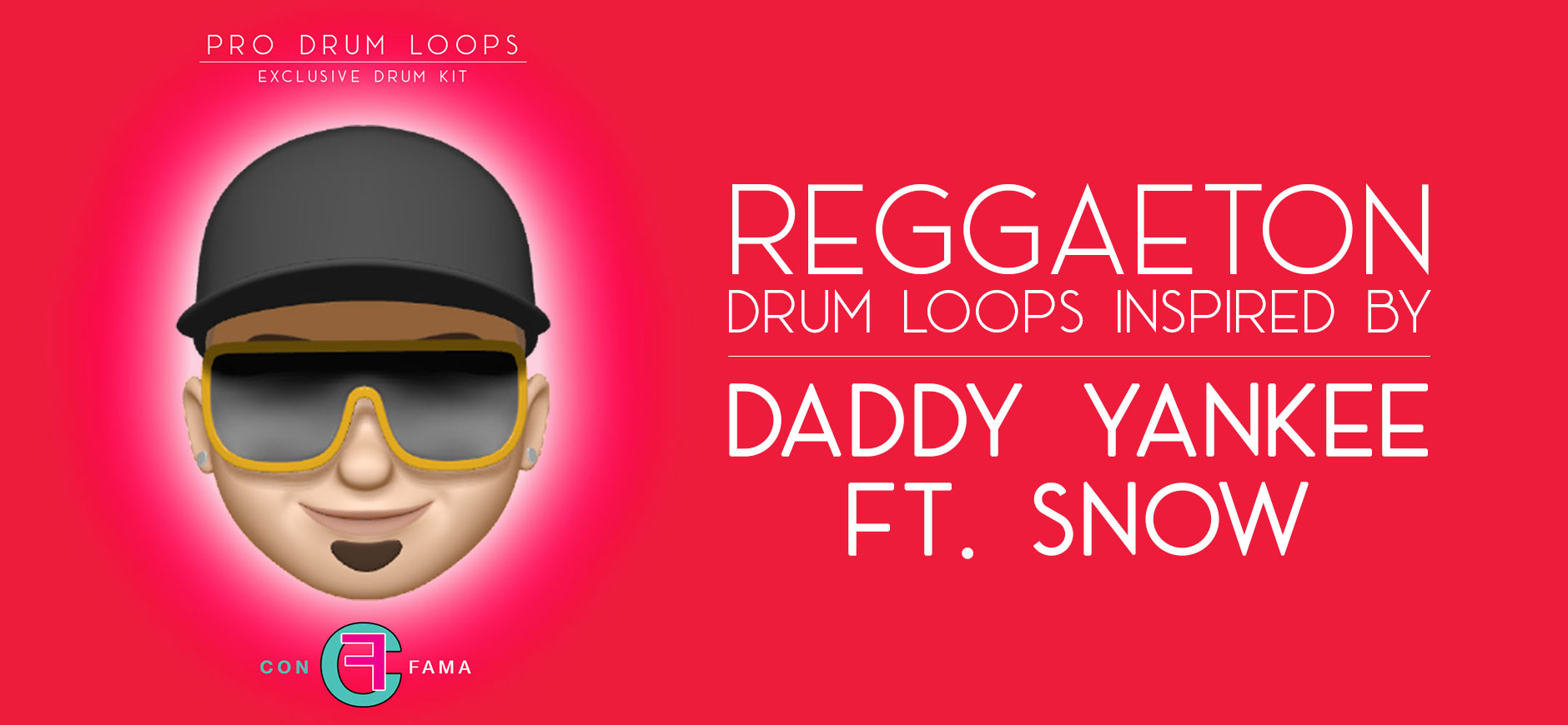 Con Calma Drum Kit Inspired by Daddy Yankee ft. Snow