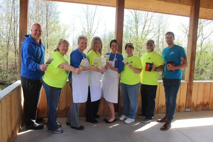 Peace Village Celebrates Earth Day With Gazebo Volunteer Project