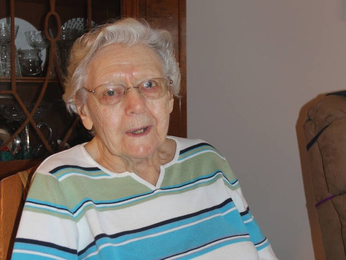 Peace Village resident Louise Swannie reflects on more than a century of experiences