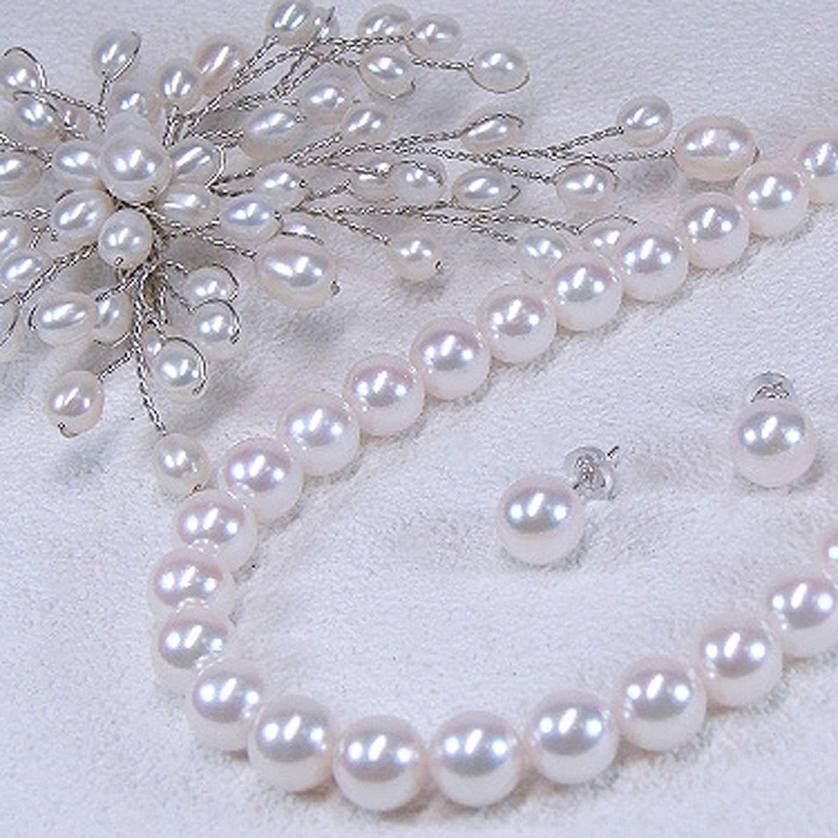 アコヤ真珠フォーマルセットの写真