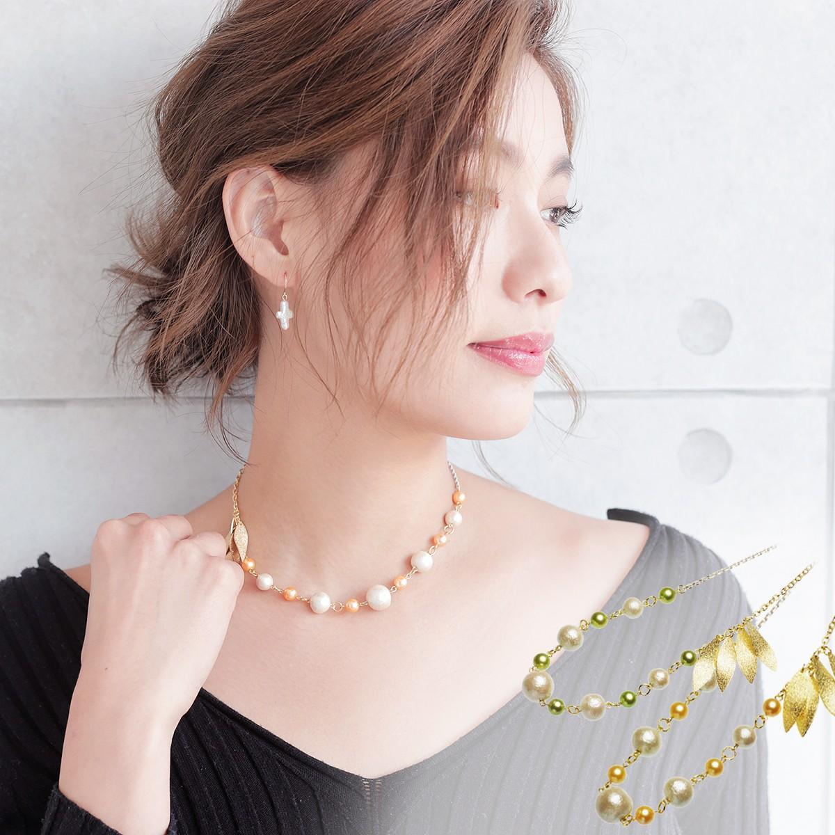 アコヤ真珠オリジナルデザインネックレス 約6.5-7.0の写真