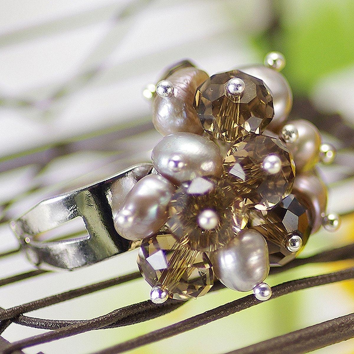 淡水真珠リング 約5.0-6.0mmの写真