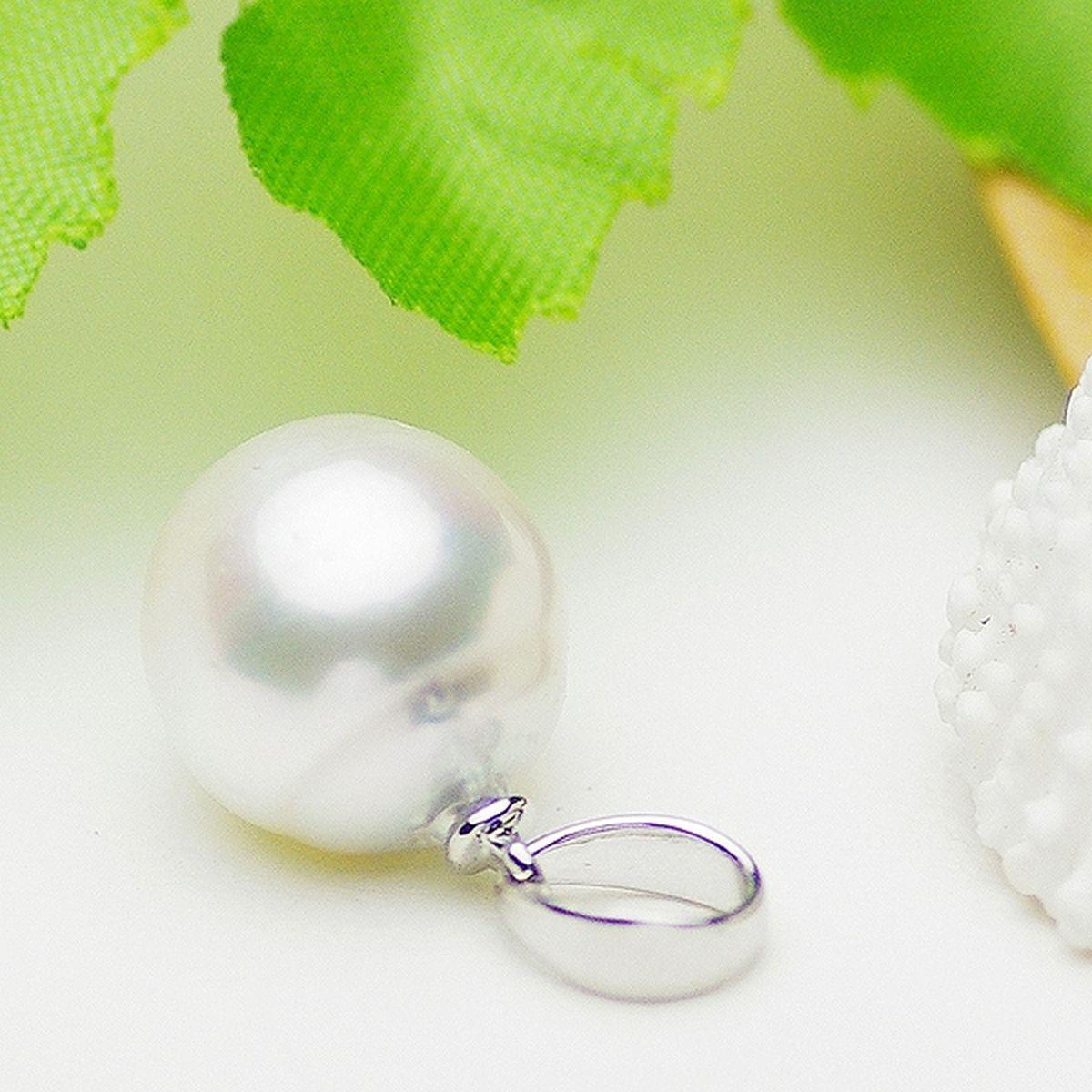 南洋白蝶真珠ペンダント 約10.0mmの写真