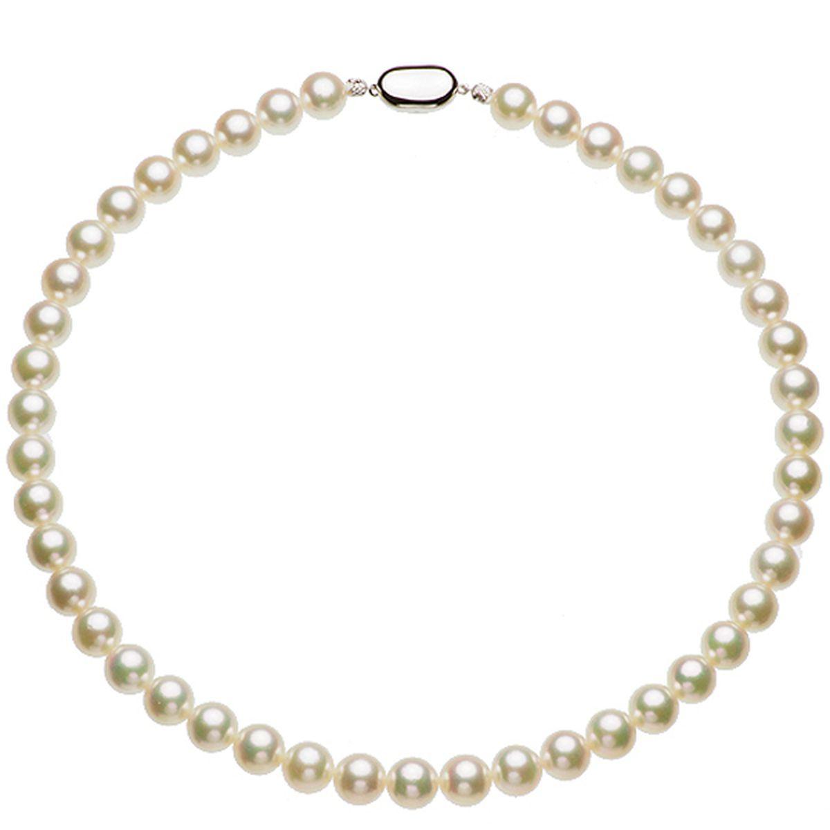 アコヤ準花珠真珠フォーマルネックレス 約9.0-9.5mmの写真