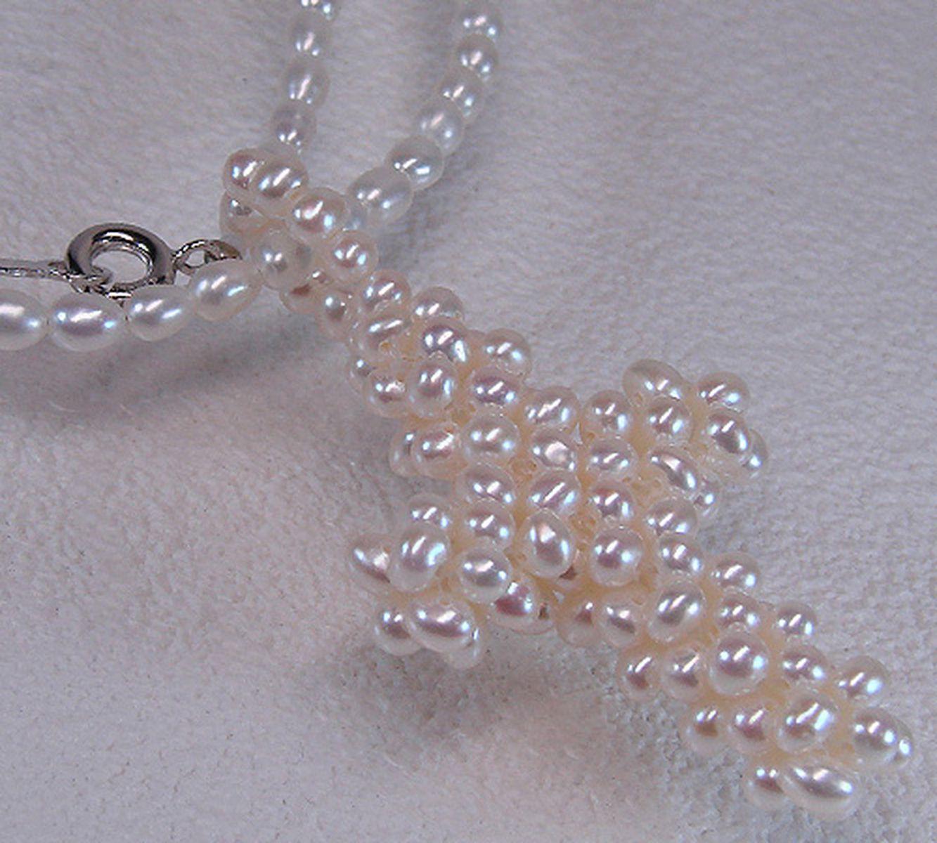 淡水真珠 パール ペンダント シルバー SVの写真