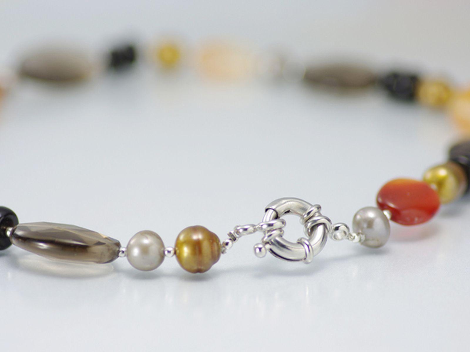 淡水真珠オリジナルデザインネックレス 約9.5mmの写真
