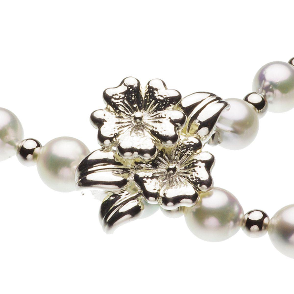 アコヤ真珠オリジナルデザインネックレス 約7.5mmの写真