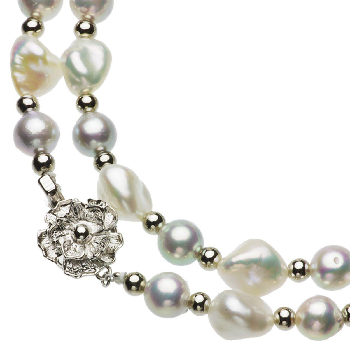 アコヤ真珠オリジナルデザインネックレス 約7.5-8.0mmの写真