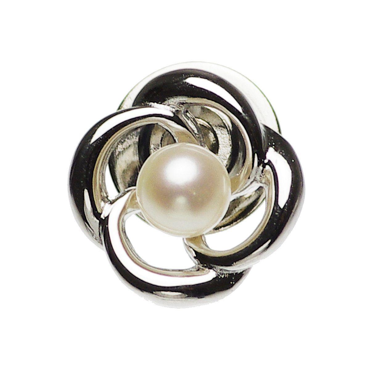 アコヤ真珠 パール ピンブローチ 約4.5mmの写真