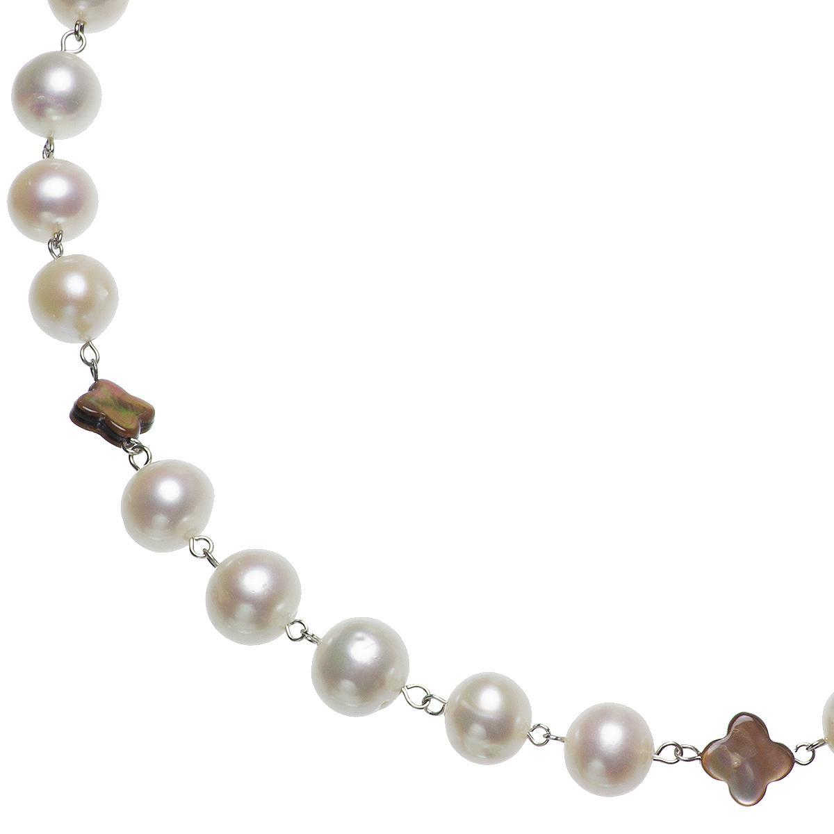 淡水真珠 オリジナル デザイン ネックレス 9.0-10.0mmの写真