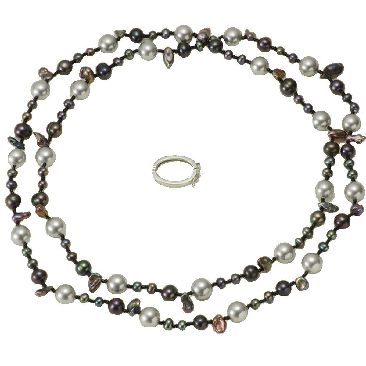 淡水真珠ロングネックレス 約4.5-5.5mmの写真