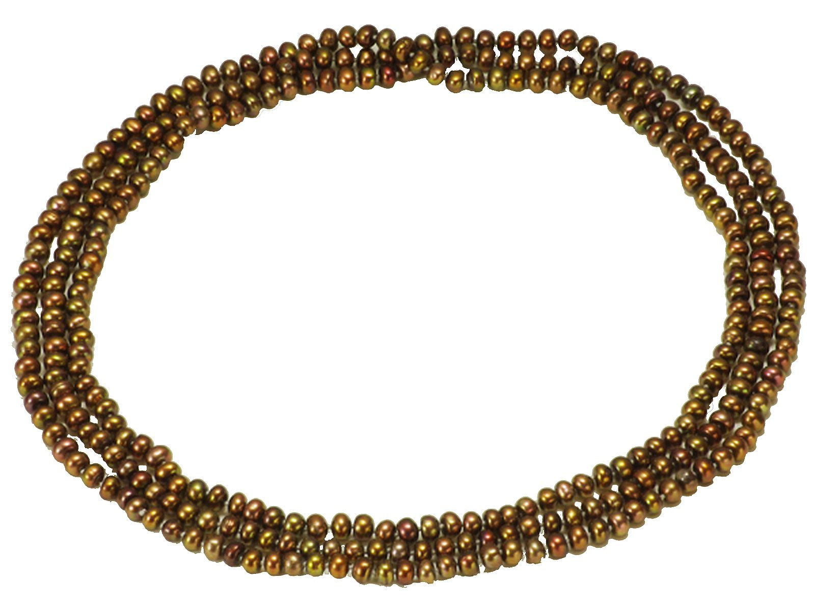 淡水真珠ロングネックレス 約6.5mmの写真