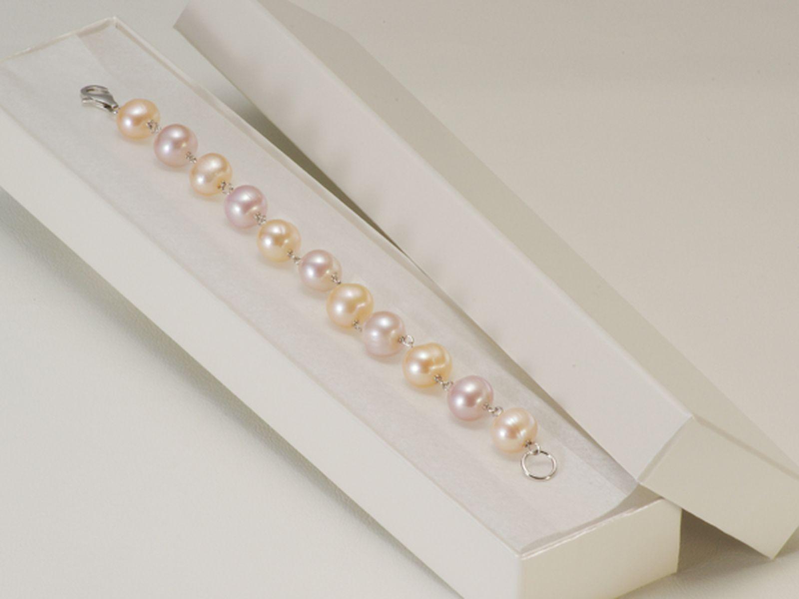 淡水真珠ブレスレット 約9.0-10.0mmの写真