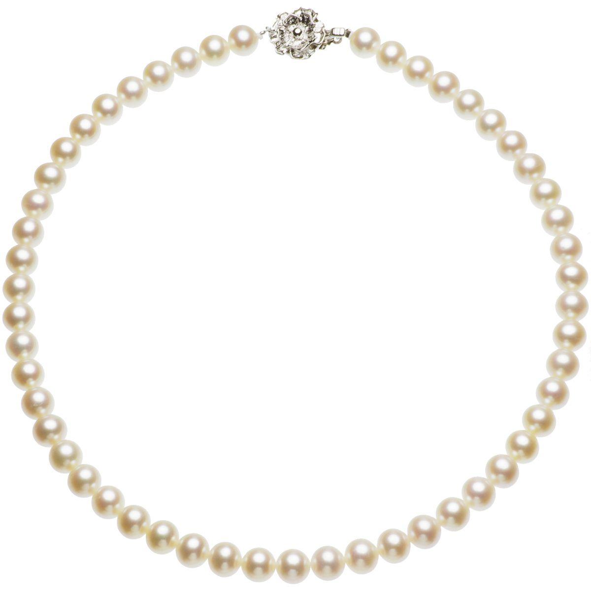 淡水真珠フォーマルネックレス 約8.0-8.5mmの写真
