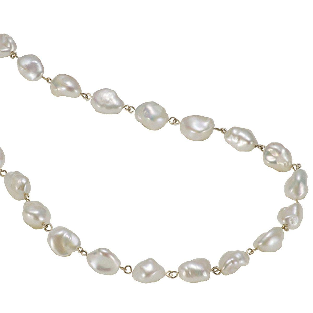 淡水真珠オリジナルデザインネックレス 約10.0-11.0mmの写真