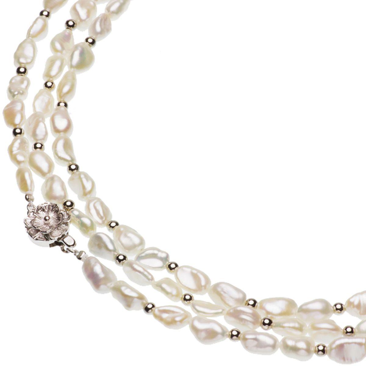 淡水真珠ロングネックレス 約5mmの写真