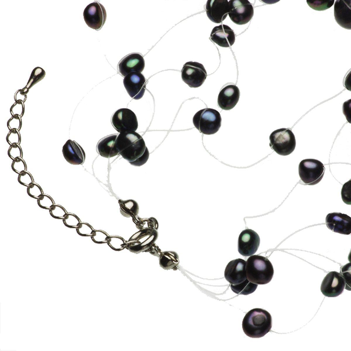 淡水真珠オリジナルデザインネックレス 約5.0-10.0mmの写真