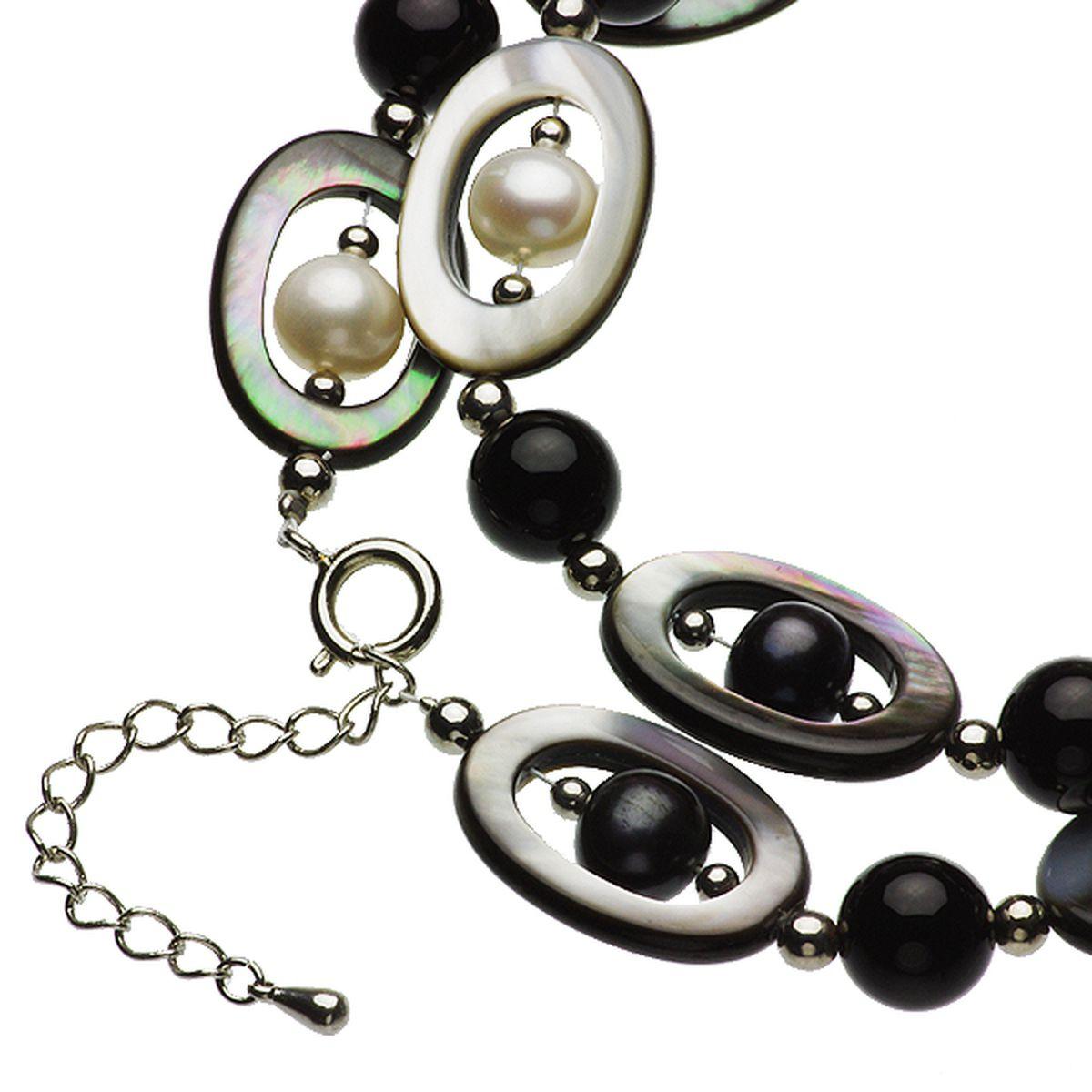 淡水真珠オリジナルデザインネックレス 約8.5-9.0mmの写真