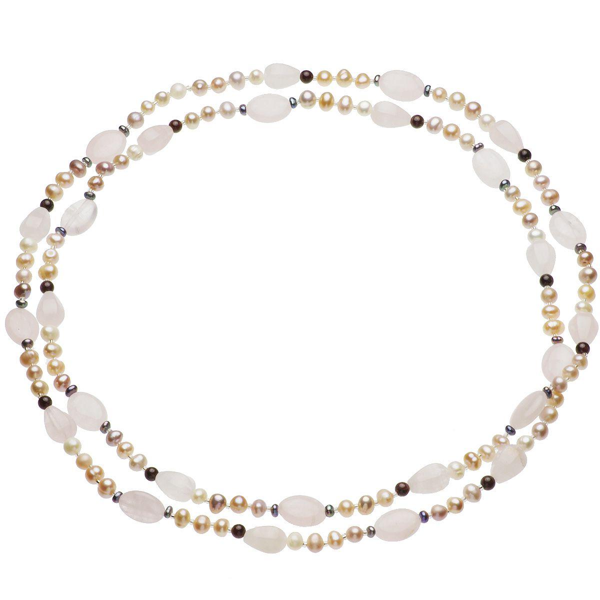 淡水真珠ロングネックレス 約5-5.5mmの写真