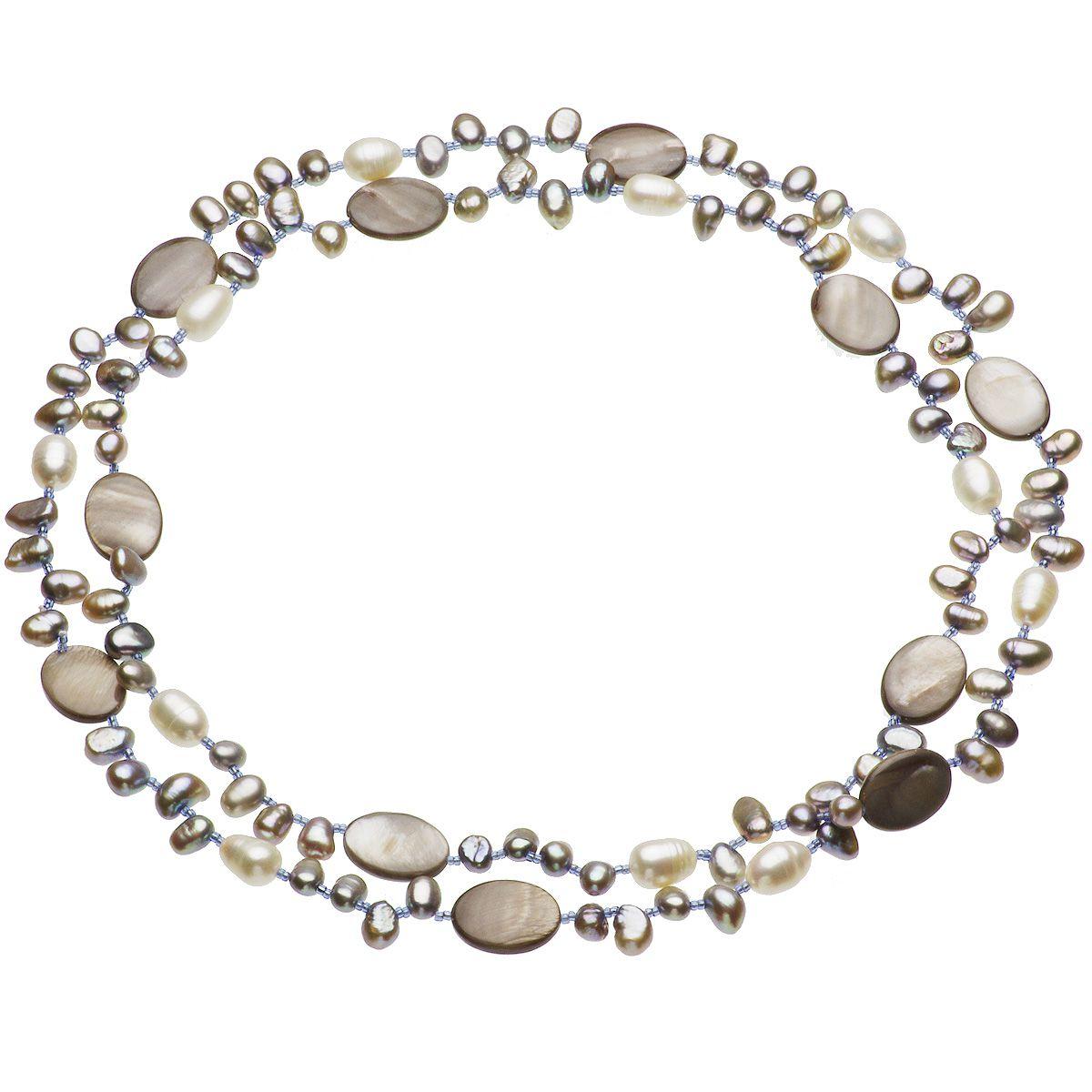淡水真珠ロングネックレス 約10mmの写真