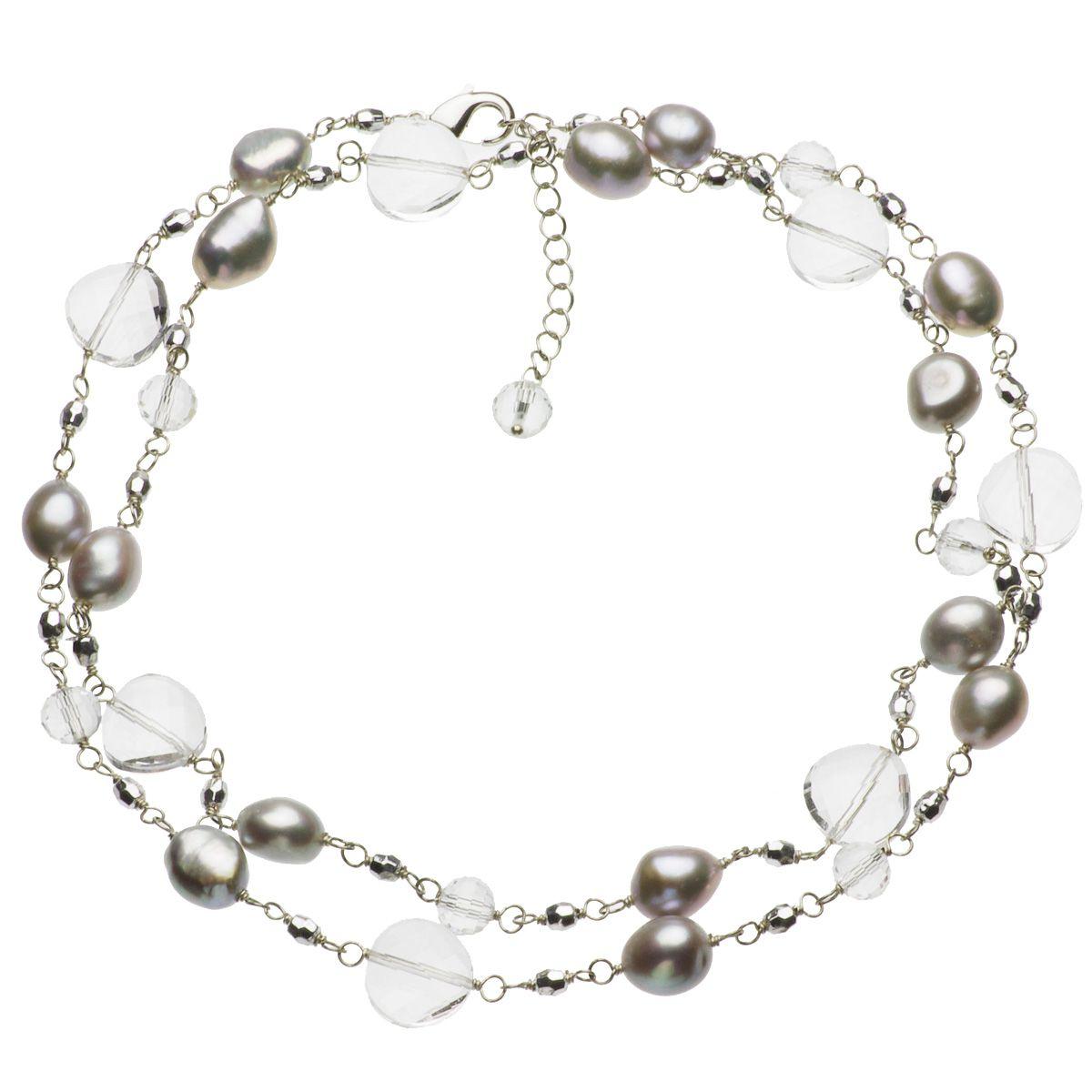 淡水真珠ロングネックレス 約11.5mmの写真