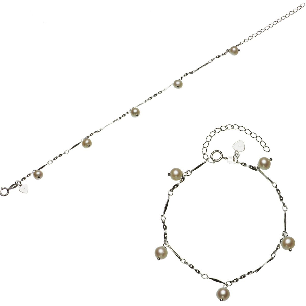 淡水真珠ブレスレット 約6.0-6.5mmの写真