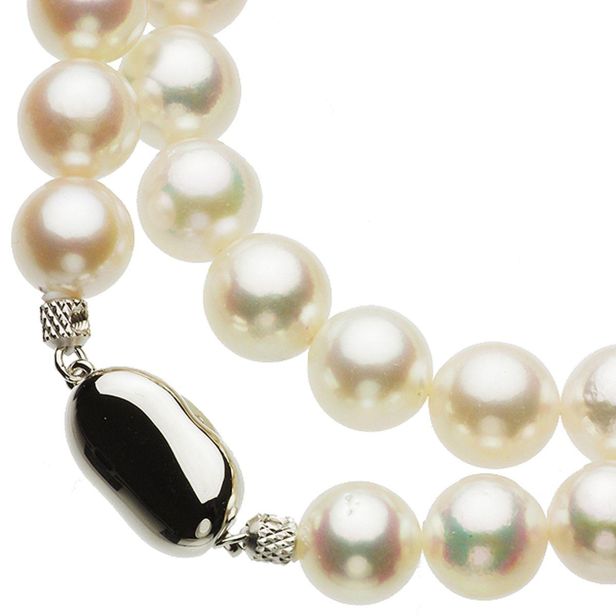アコヤ真珠フォーマルネックレス 約9.0-9.5mmの写真