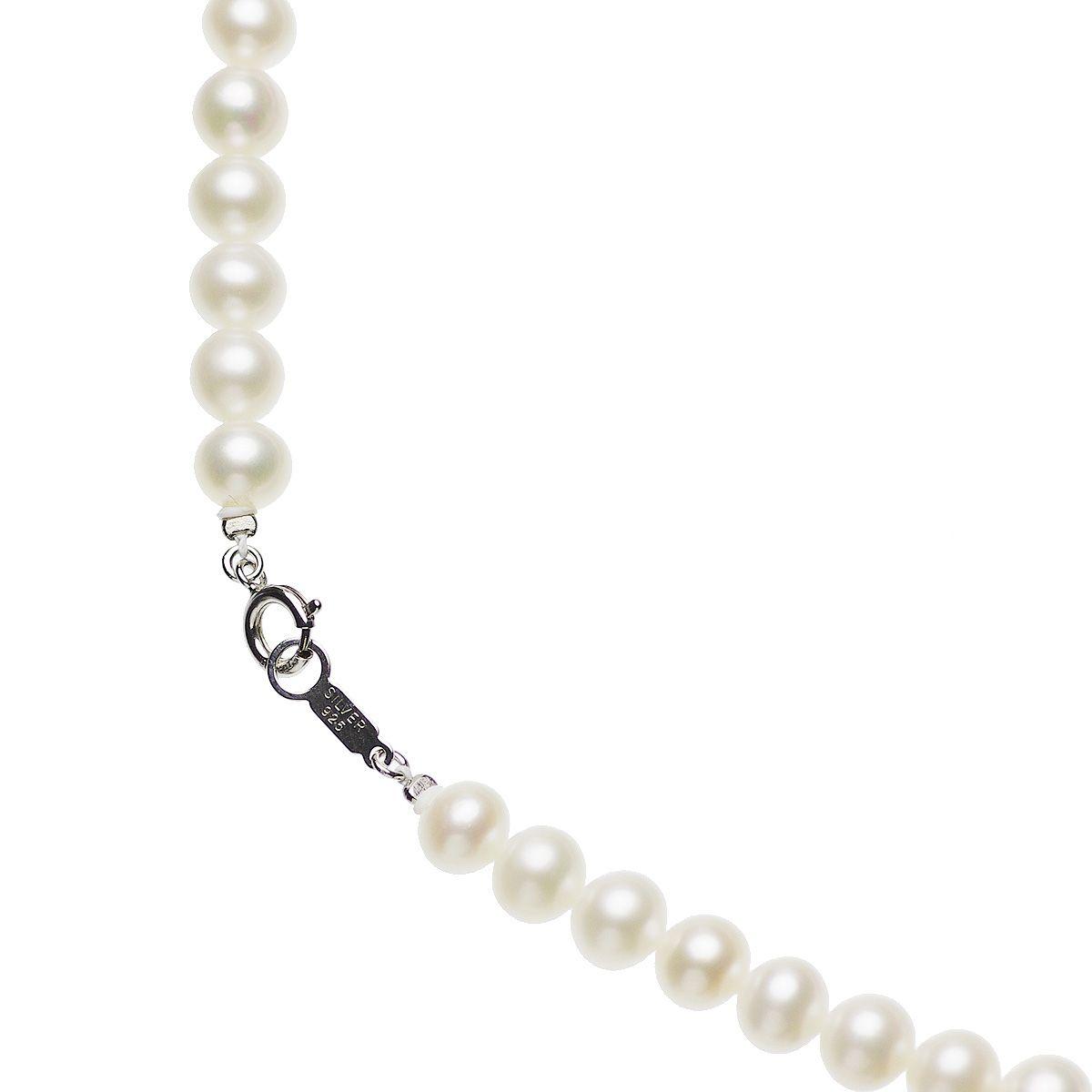 高級淡水真珠フォーマルネックレス 約6.5-7.0mmの写真