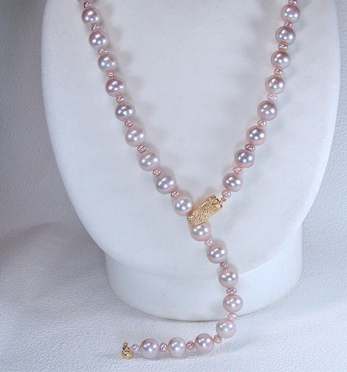 淡水真珠オリジナルデザインネックレス 約4.0mmの写真