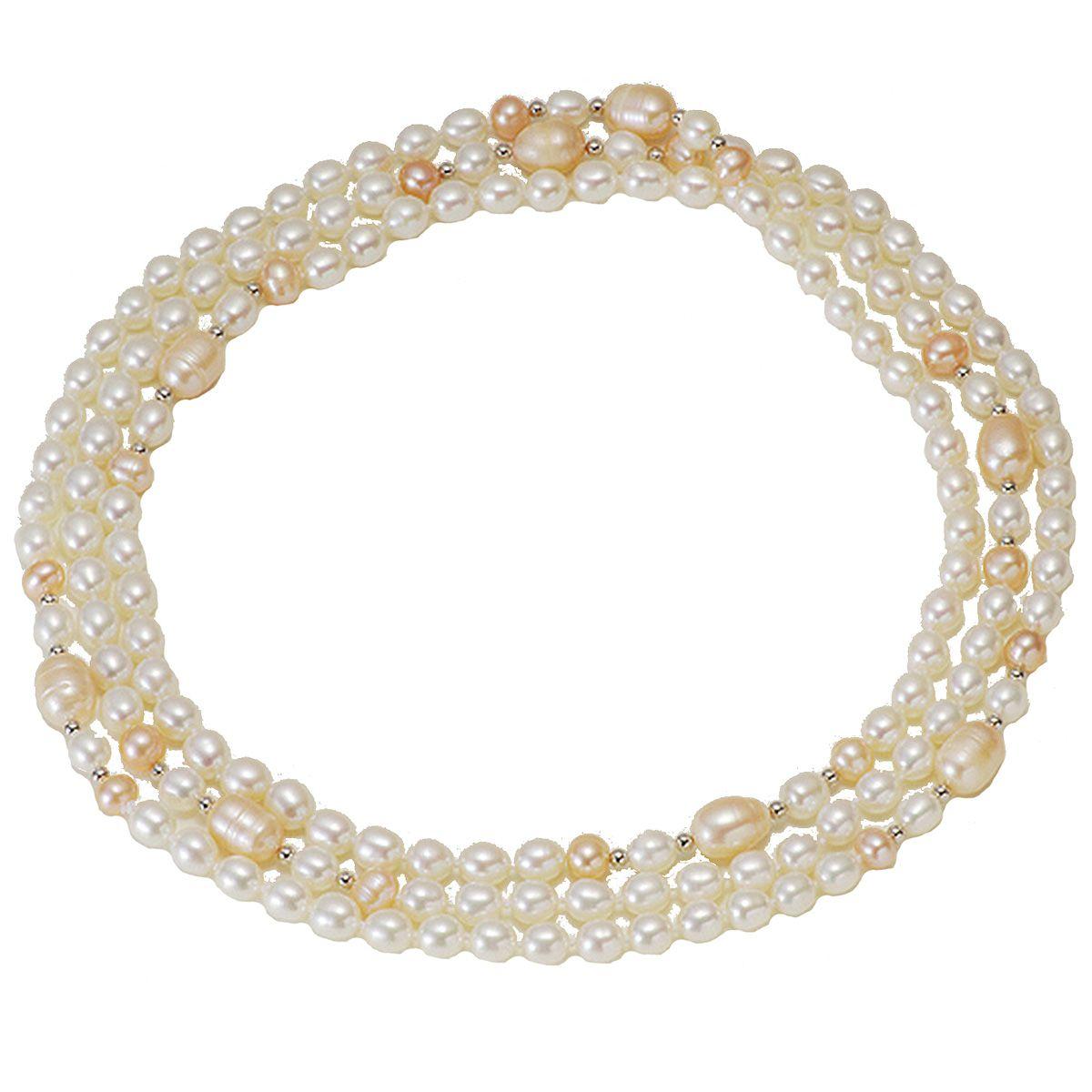 淡水真珠ロングネックレス 約9.0-10.0mmの写真