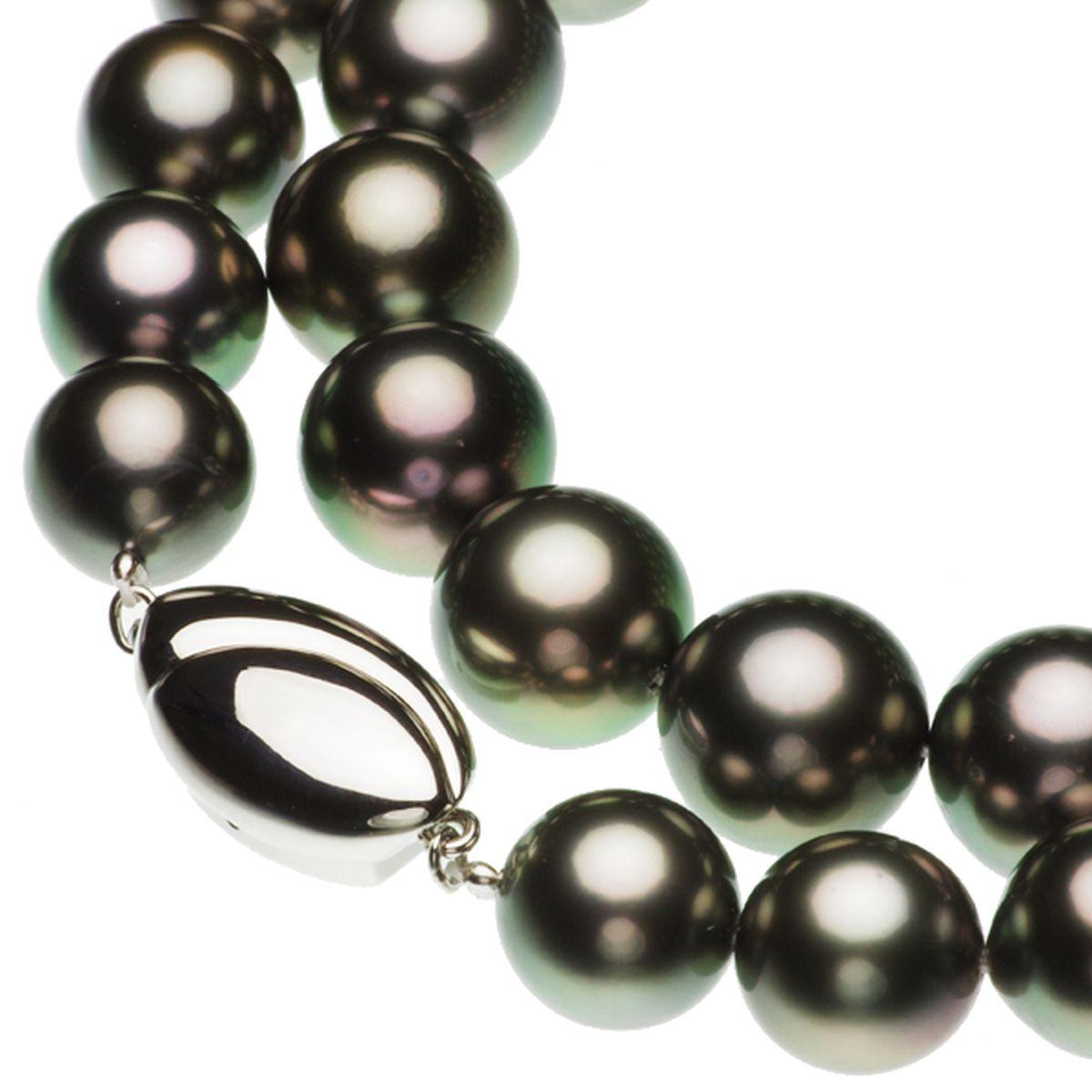 タヒチ黒蝶真珠フォーマルネックレス 約10.0-11.0mmの写真