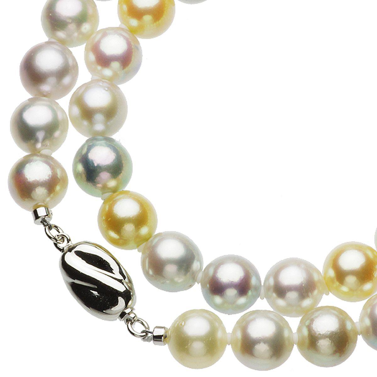 アコヤ真珠フォーマルセット 約9.0-9.5mmの写真
