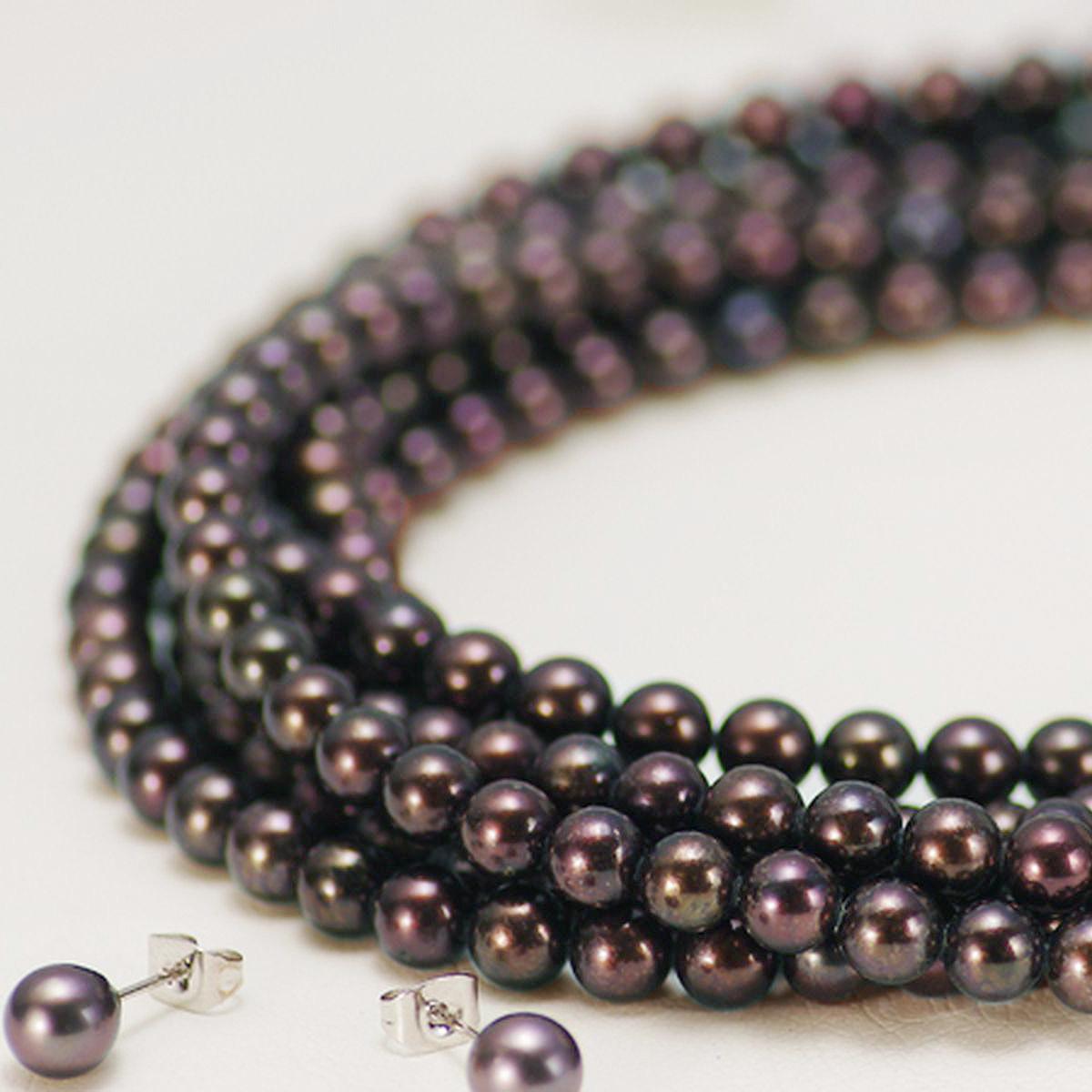 アコヤ真珠ロングネックレス 約6.0-6.5mmの写真