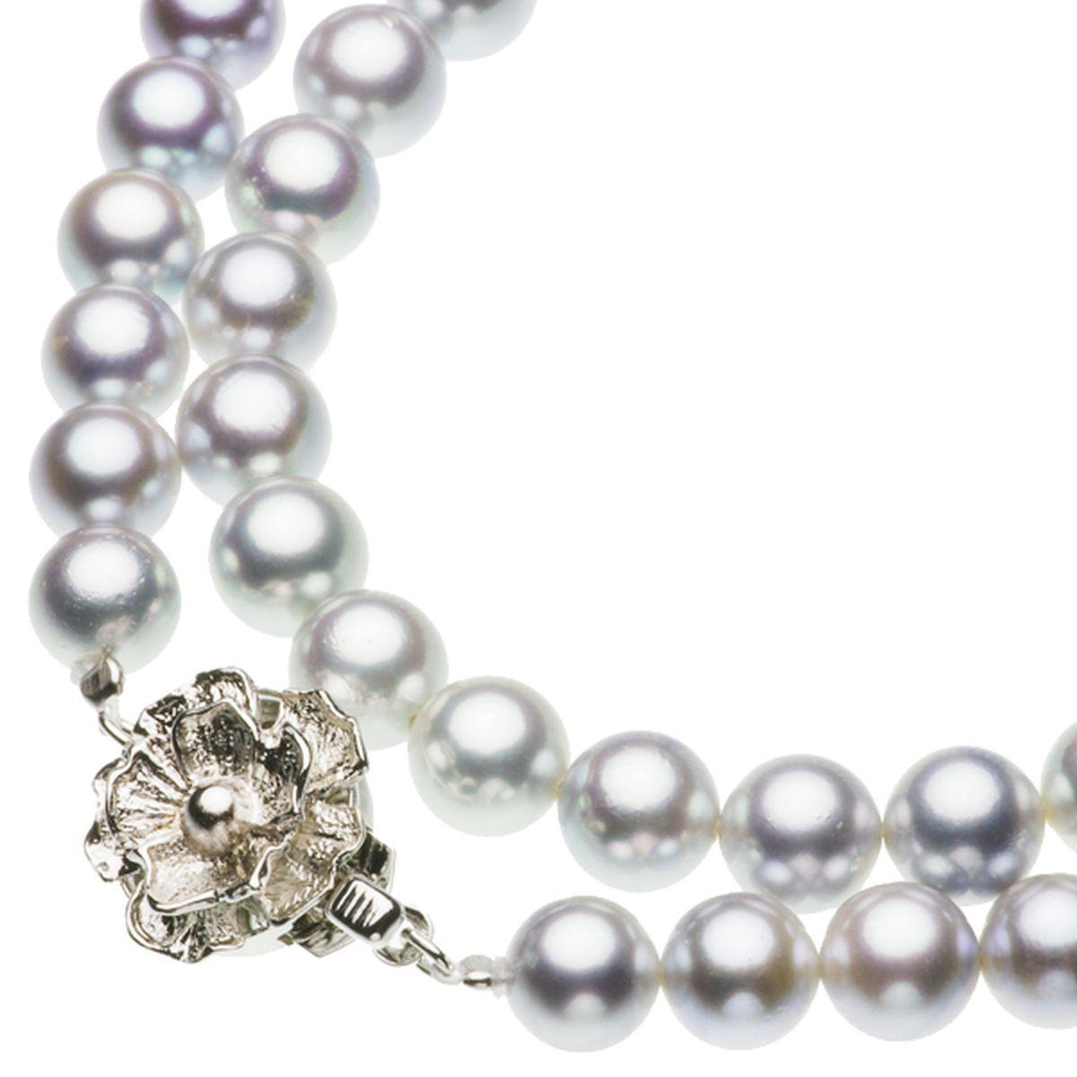 アコヤ真珠フォーマルネックレス 約7.0-7.5mmの写真