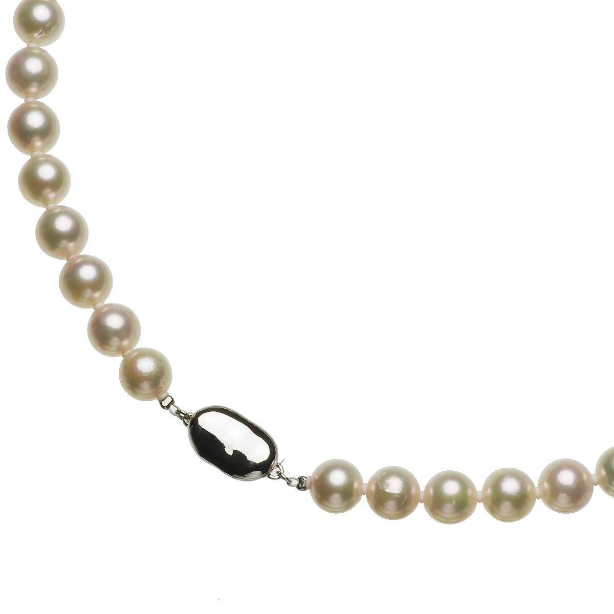 アコヤ 厚巻き 高品質 真珠 パール フォーマル セット 約8.5-9.0mmの写真