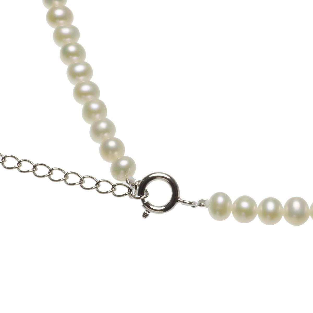 黒蝶シェル 淡水真珠 ネックレスの写真