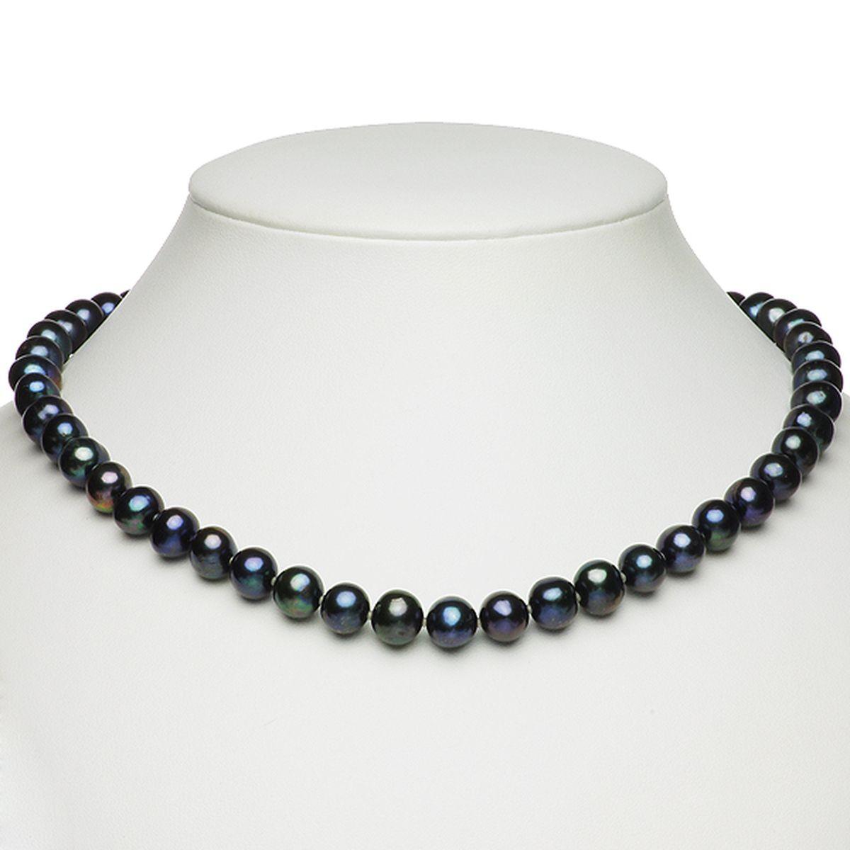 淡水真珠オリジナルデザインネックレス 約8.0-9.5mmの写真