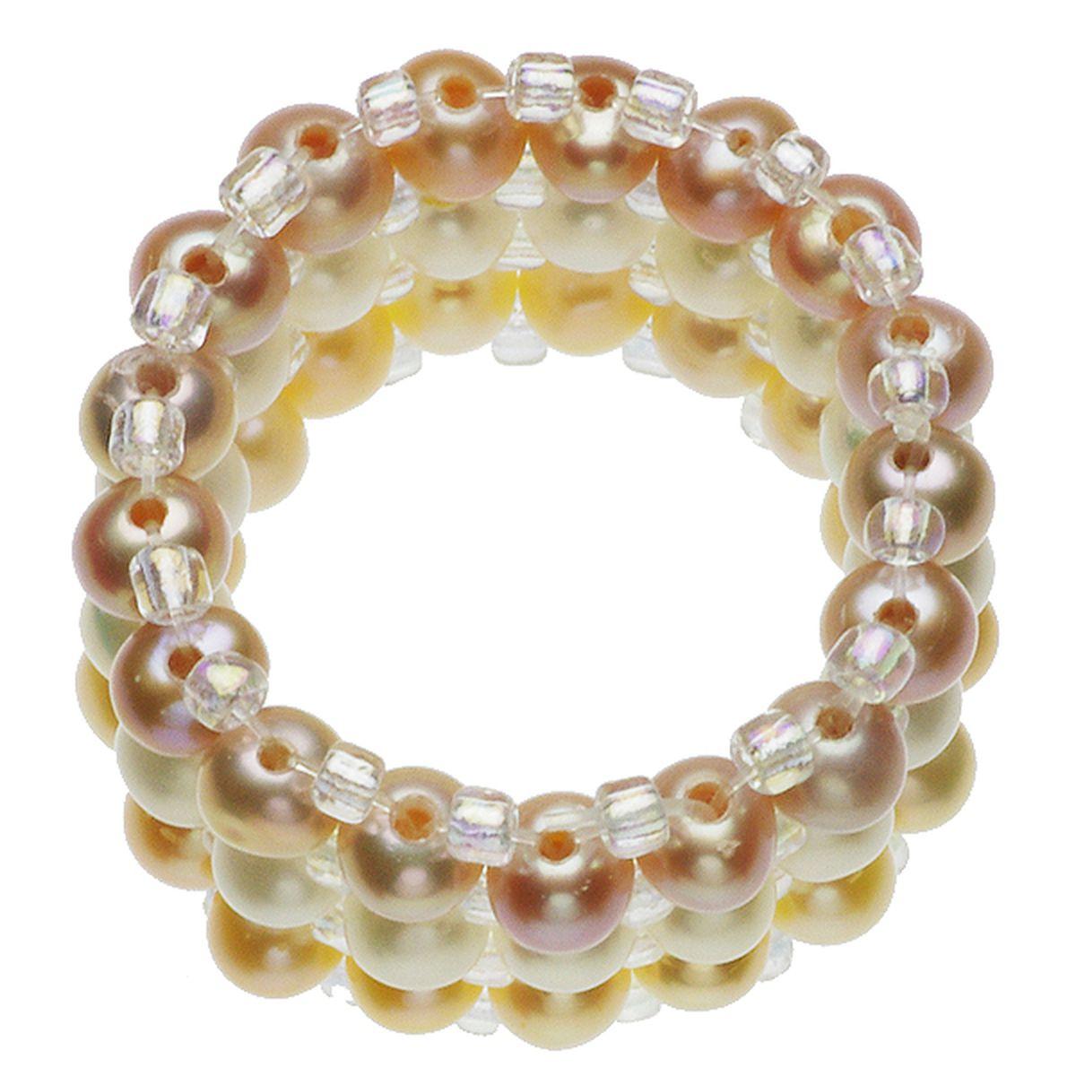 淡水真珠リング 約4.0-4.5mmの写真