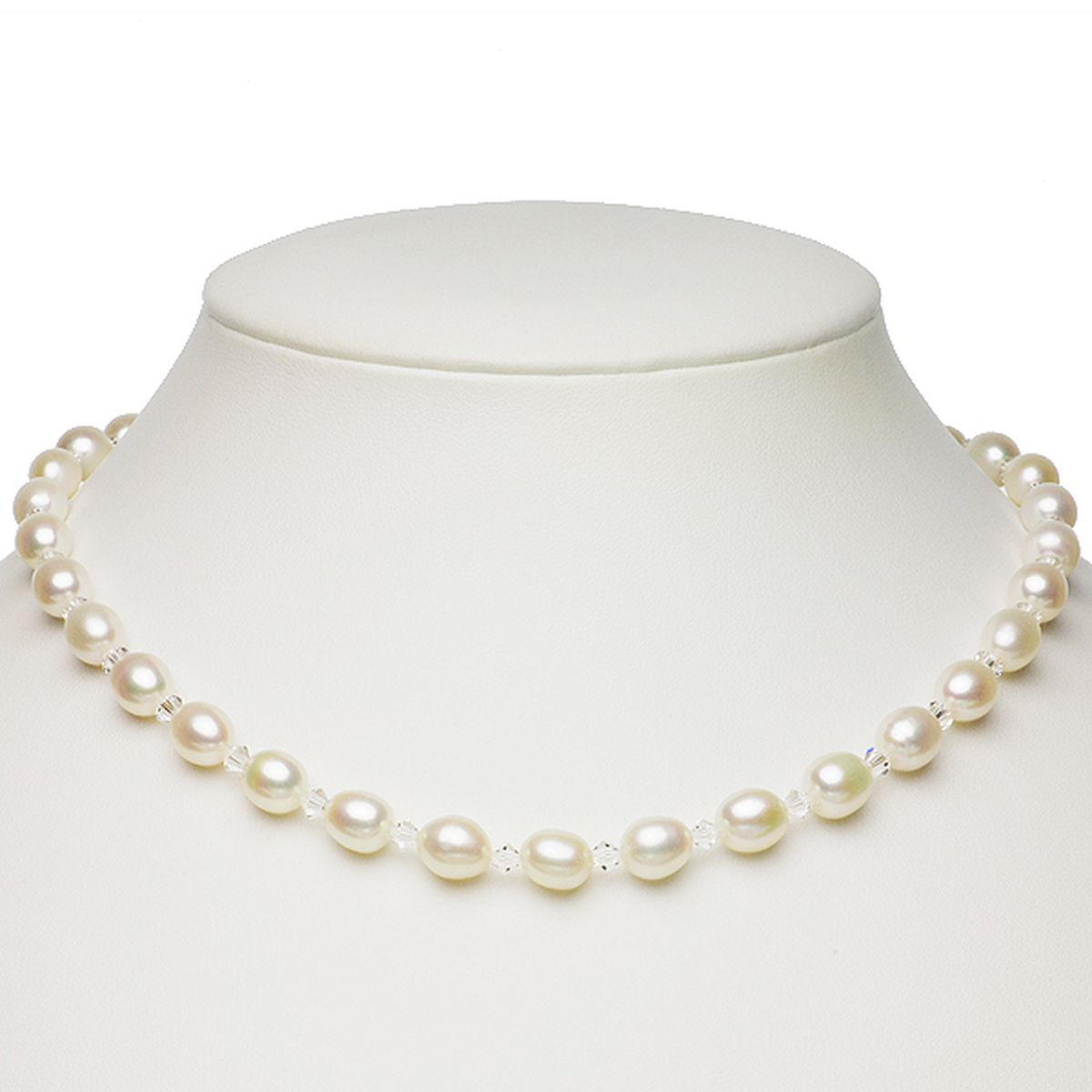 淡水真珠オリジナルデザインネックレス 約7.5-8.5mmの写真
